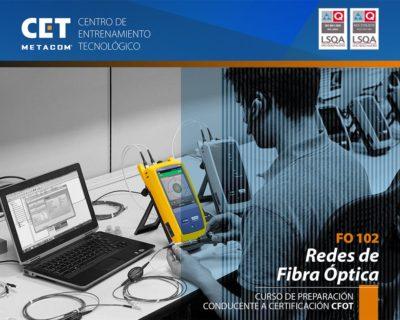 FO102 – Redes en Fibra Óptica con Certificación CFOT