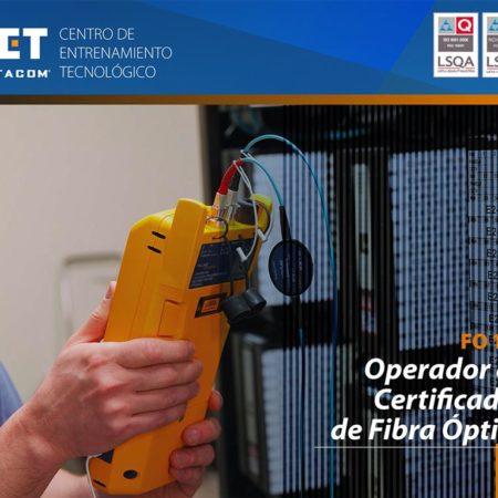 FO104 – Operador de Certificador de Fibra Óptica